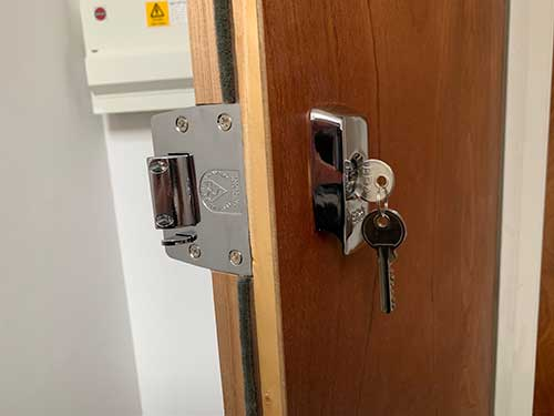 Locks supplied and fitted to BS 3621